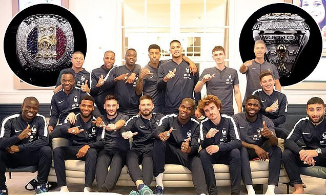 Manchester United star Paul Pogba buys World Cup championship rings for the entire France team