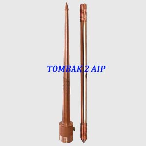 Penangkal Petir Konvesional 2 AIP BC-25mm