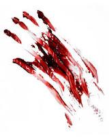 sangre derramada Mujer asesinada