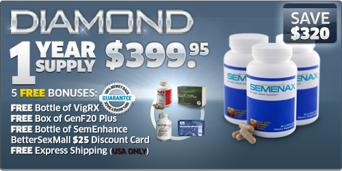 Semenax Pills Diamond Package