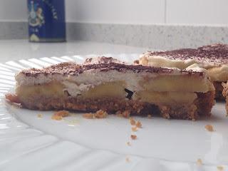 Presentación Banoffee Pie