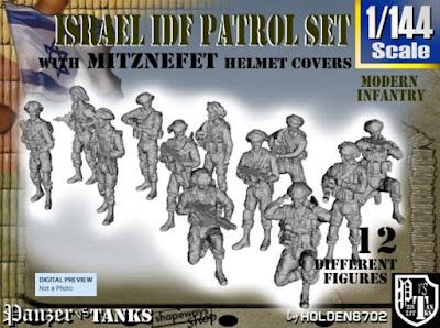 1-144 IDF PATROL SET picture 1