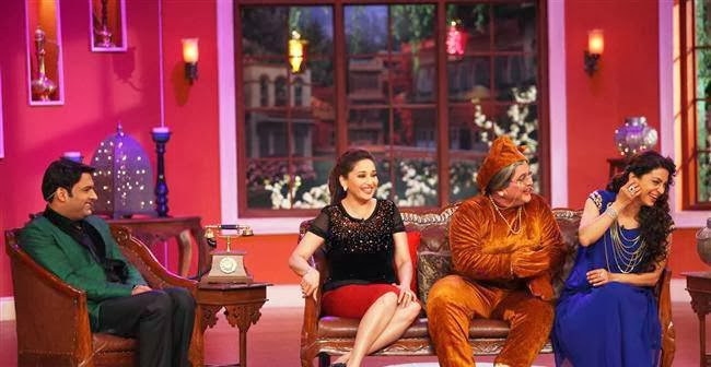‎Madhuri‬ and Juhi‬ on ‪Comedy Nights With Kapil‬ to promote ‎Gulaab Gang‬