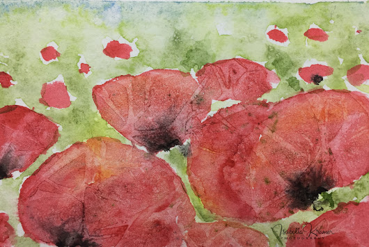 small red wonders - #'WorldWatercolorMonth