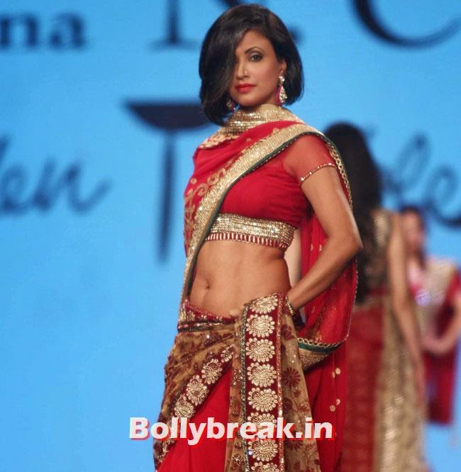 Cancer Fundraiser Fashion Show, Hot Indian Models in Saree - Ramp Walk for Cancer Fundraiser Fashion Show