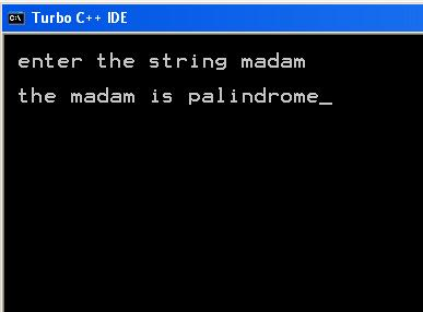 C program to check if inputted number is palindrome or not