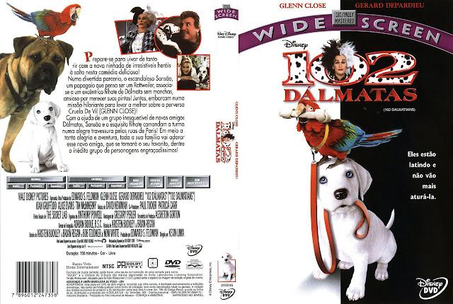 Capa DVD 102 DÁLMATAS