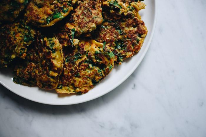 Gluten Free Vegetable Fritters