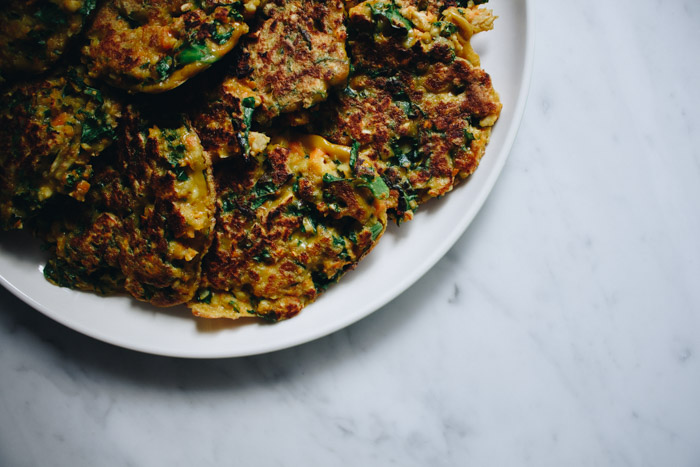 Gluten Free Vegetable Fritters