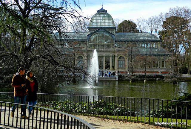 Madri - Palácio de Cristal - Parque do Retiro