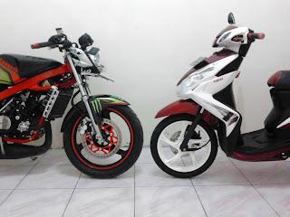 Kawasaki Ninja 150R EVILution & Yamaha Xeon 125 : The Beast and Beauty