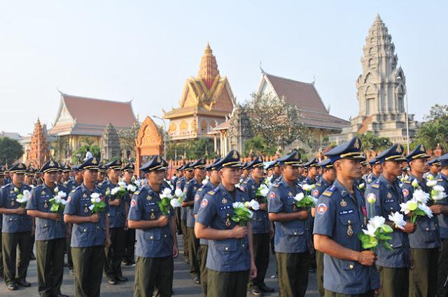 Les obsèques de Samdech Preah Norodom Sihanouk. Photographie Palais Royal