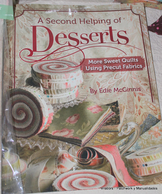 Libros de Patchwork y Quilt (A Second Helping of Desserts de Edie McGinnis)- Vilabors
