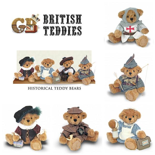 Great British Teddy Bear
