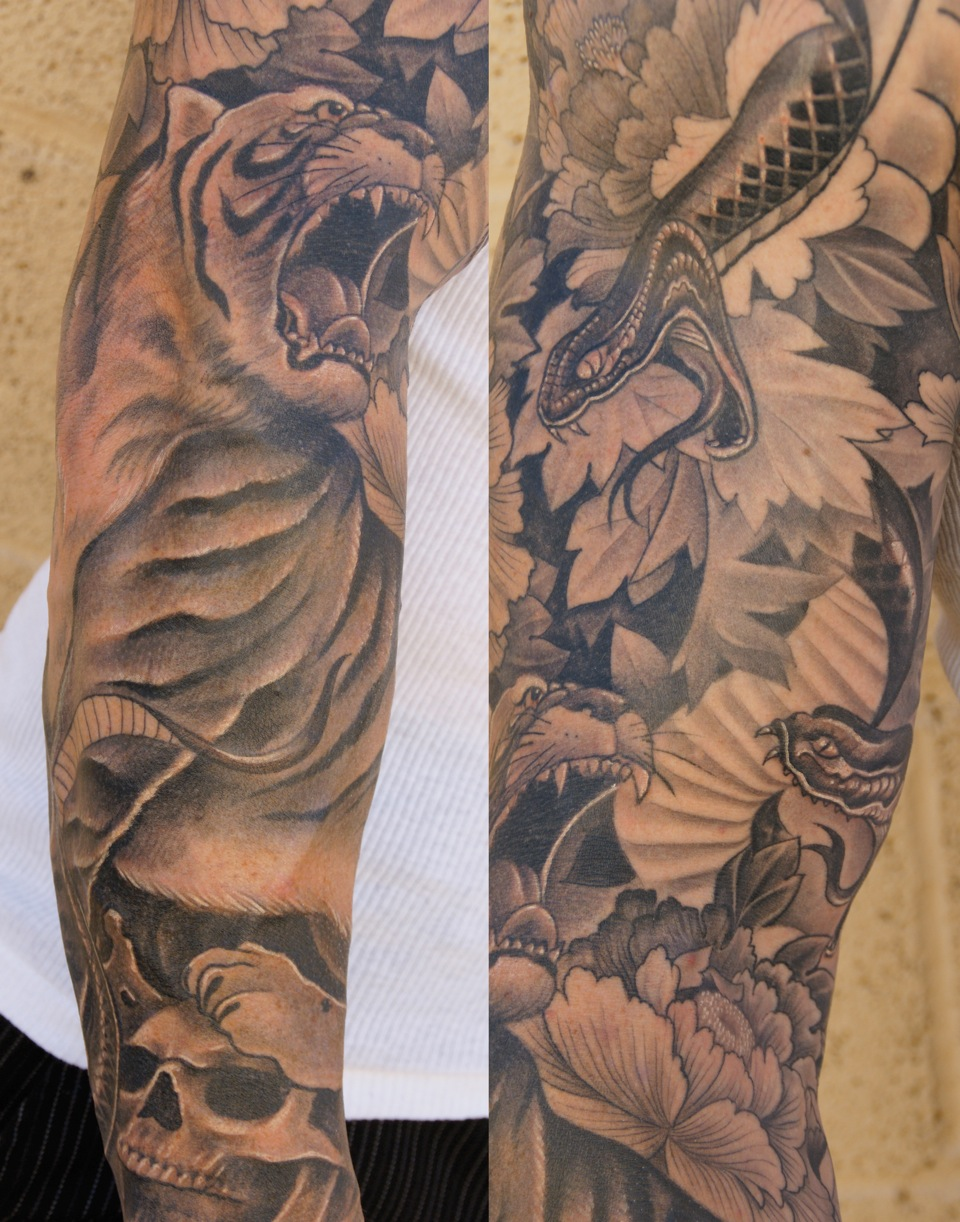 Tattoo Ideas Men Sleeve: Tumblr Tattoo: Tattoos For Men Sleeves Pictures