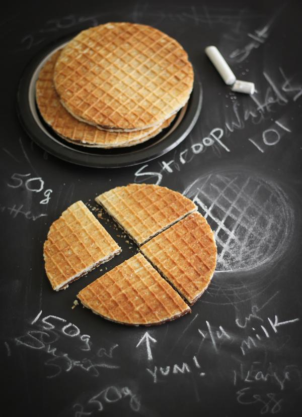 Homemade Stroopwafels | Sprinkle Bakes