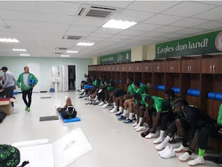 Check Out The Super Eagles' Customized Locker Room At The Russia 2018 World Cup (Photos)