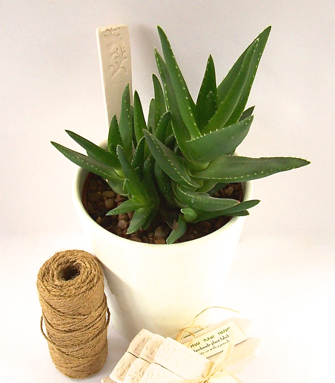 Little Brick House Clayworks: Ceramic Plant Markers