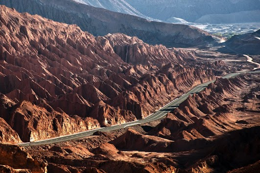 Salt Mountains, Atacama Desert, Chile.