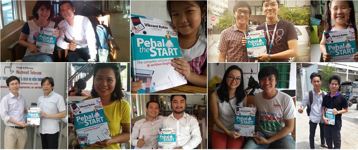 Đọc giả của sách từ vựng Pehal The Start