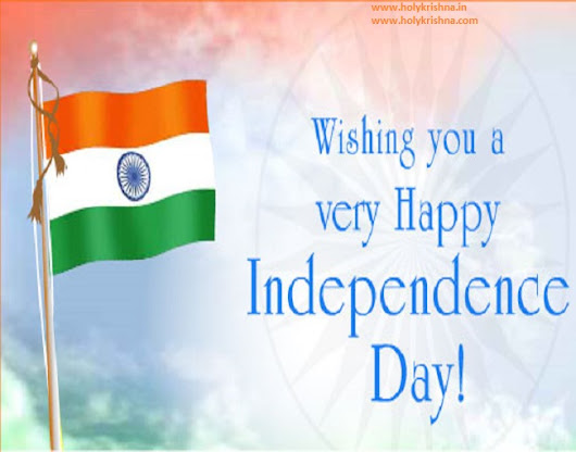 Radhe Krishna: Wishing You Happy Independence Day