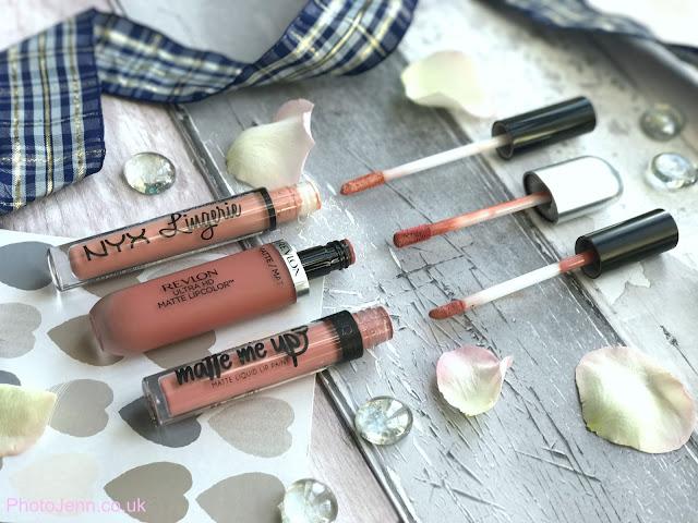 revlon-hd-matte-seduction-liquid-lipstick-barry-m-matte-me-up-pose-lip-lingerie-nyx-babydoll