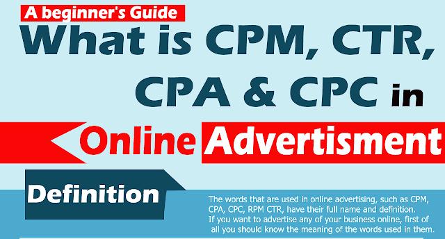 CPM-CPA-CPC-RPM-CTR-Kya-hota-hai