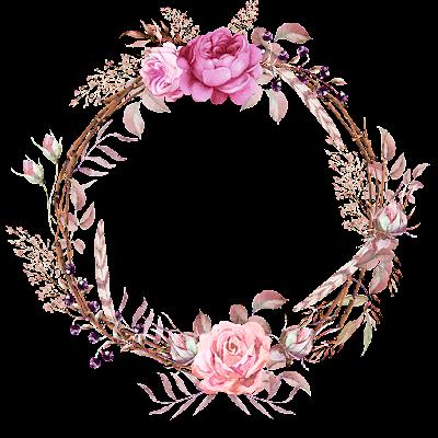 Psiu Noiva - Mais de 30 Frames Florais Para Download Grátis 4