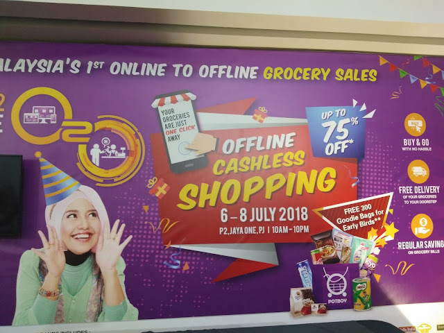 POTBOY x FAVE: EXPERIENCE MALAYSIA'S NO. 1 ONLINE TO OFFLINE GROCERY SALES