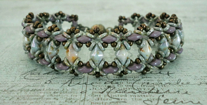 Linda's Crafty Inspirations: Free Beading Pattern - Bluebell