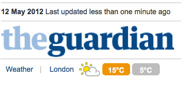 logo von the guardian