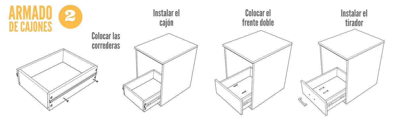 hacer cajones de madera Cmo Hacer Cajones Para Muebles De Melamina