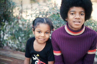 Michael Jackson and Janet Jackson childhood photos