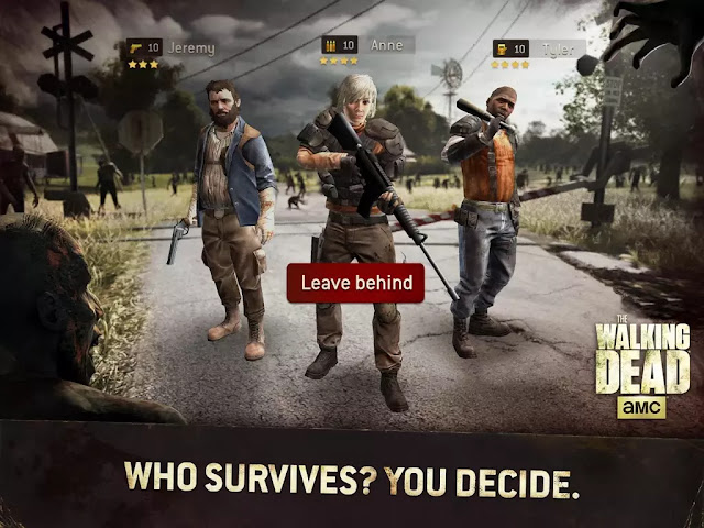 The Walking Dead No Man's Land Apk Download Mod+Hack+data