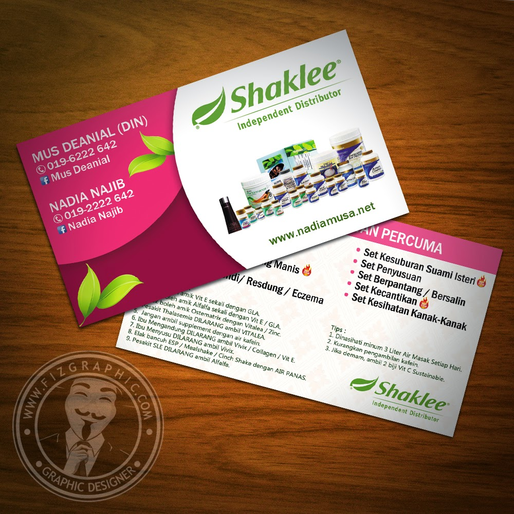Unusual Shaklee Business Cards Contemporary Card Ideas