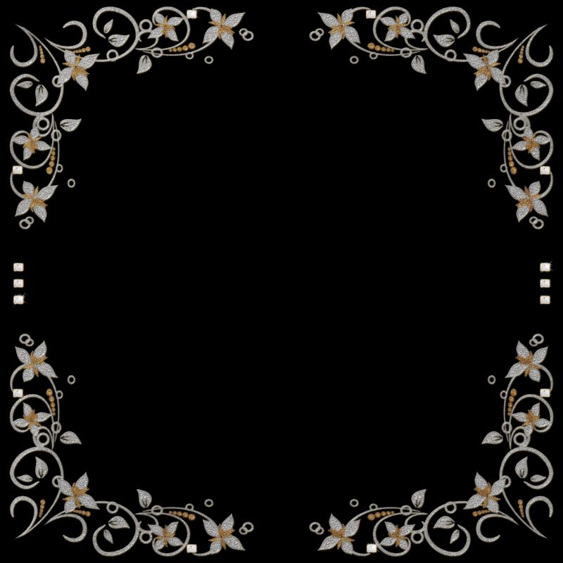7 bellos bordes dorados para fotos gratis en png marcos - Marcos de plata para bodas ...