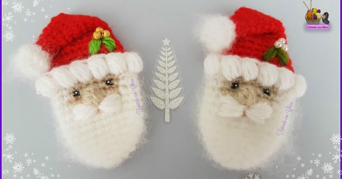 Amigurumis Tejiendo con Chico: Papá Noel / Santa Claus