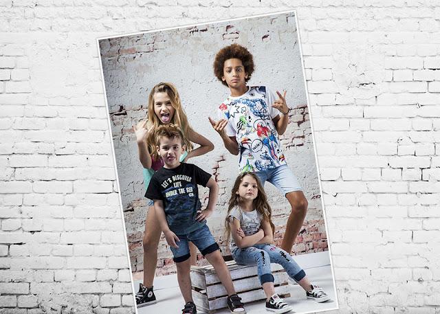 Moda primavera verano 2018 Infantil. Ropa para niños y niñas. Moda denim niños.