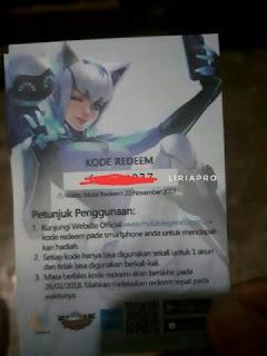 Mobile Legends : Cara Redeem/Tukar Kode Skin Eudora Vivo - Liriapro Blog