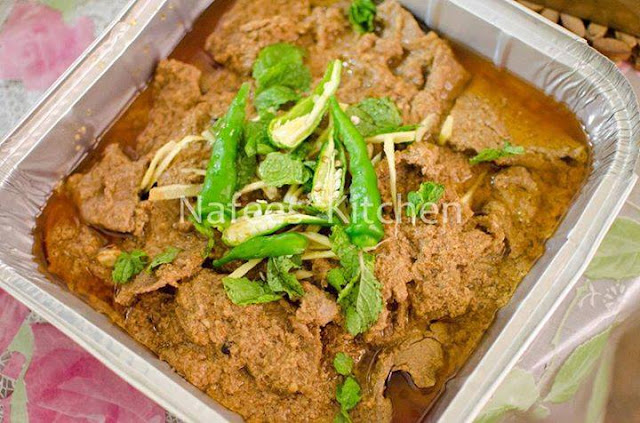Nafees' Kitchen pakistani food karachi