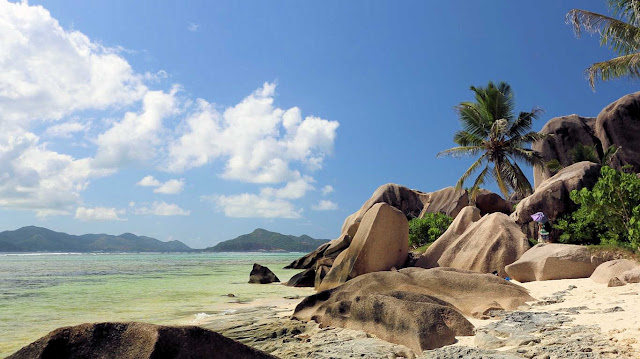 Anse Source d'Argent Beach La Digue