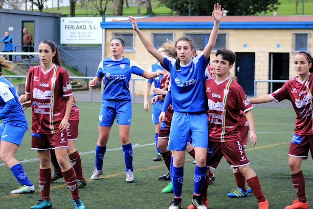 Fútbol | El Pauldarrak se juega tres puntos para ganar tranquilidad ante el Gasteizko Neskak