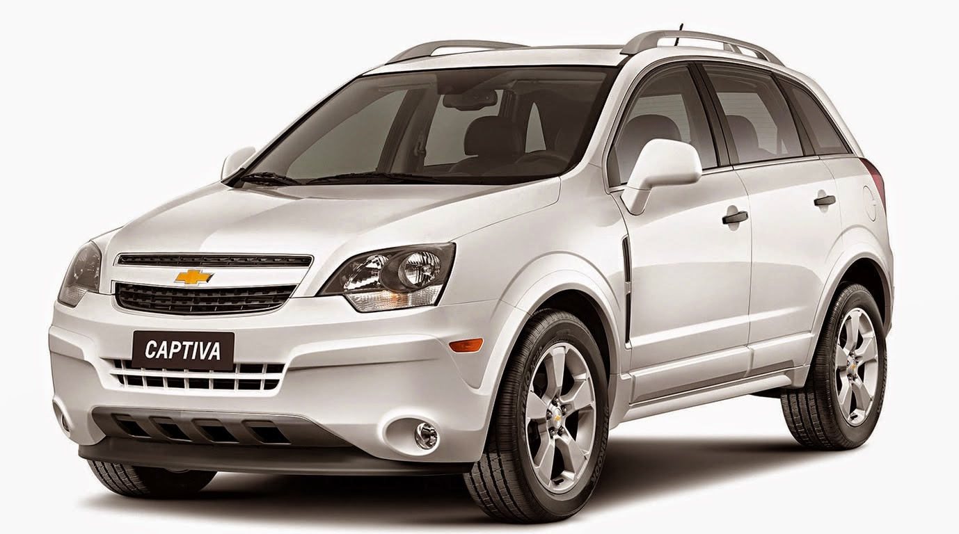 Chevrolet Captiva 2015 a SUV para sua Família