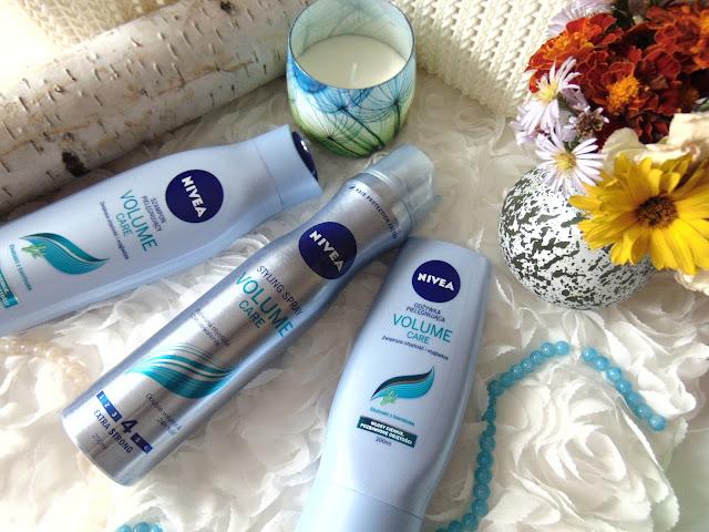 Nivea Volume Care - Produkty do pielęgnacji włosów od Nivea