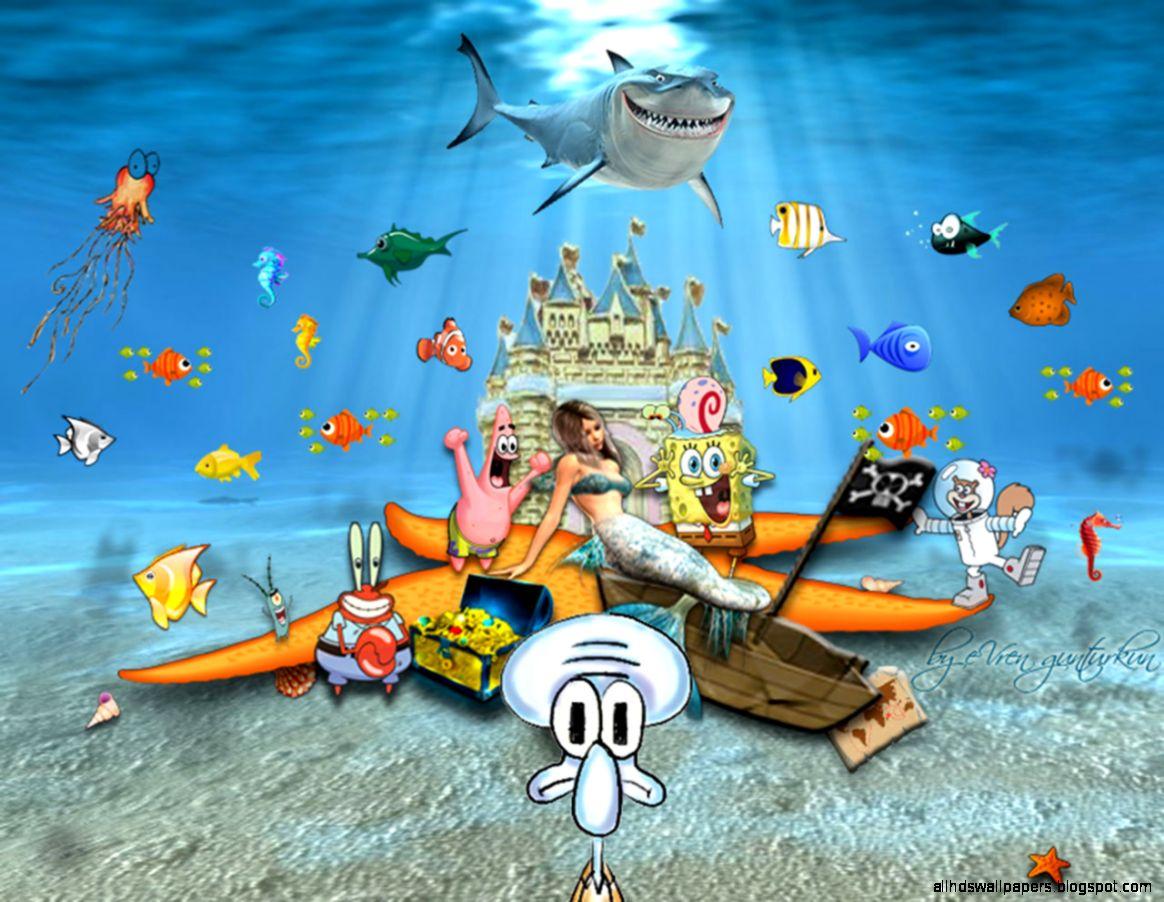 Spongebob Squarepants Characters Wallpaper | All HD Wallpapers