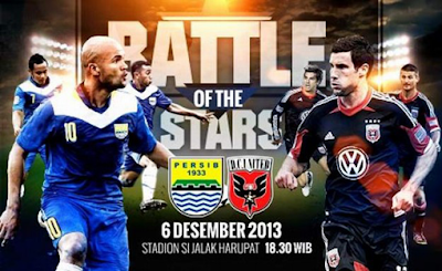 Persib vs DC United