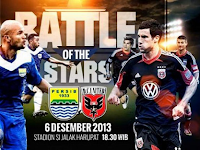 Persib vs DC United : Battle Of The Stars