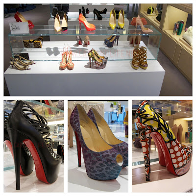 Christian Louboutin 2013 Collection in Selfridges Birmingham