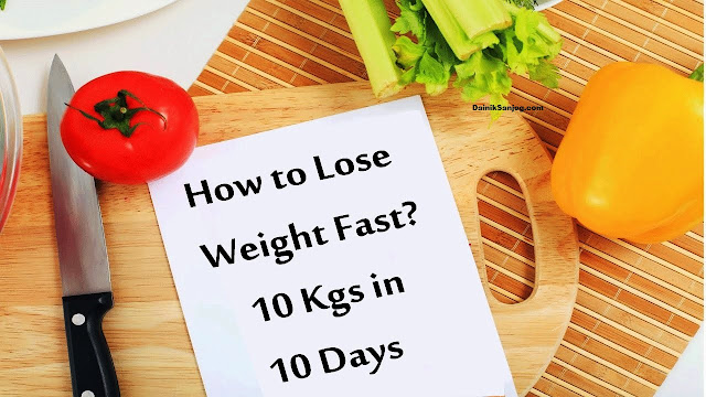 indian vegetarian diet plan to lose weight in 10 days