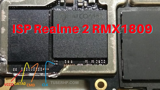 Realme 2 RMX1805 RMX1809 ISP Pinout - TUSERHP